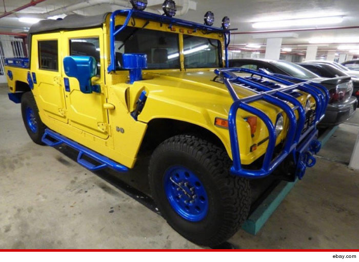 Mike Vick -- Sorry, That Pimped Out Hummer Ain't Mine | TMZ.com