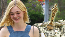 Elle Fanning -- Banking On an Oscar and Big Box Office ... for New Movie Payday