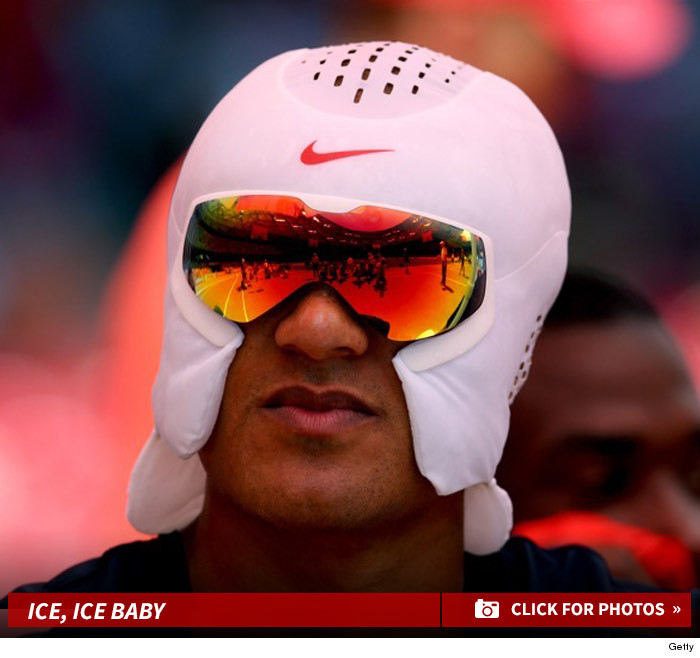 Nike's Ice Hat The Latest WTF Trend For Athletes ... Cool? (PHOTOS)