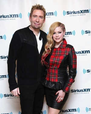 Avril Lavigne & Chad Kroeger -- Together Photos