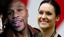 NFL's Female Coach -- Walking Mayweather to Ring ... For Berto Fight