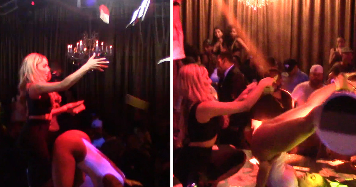 Nikki Mudarris Showering Strippers ... 'Cause It's All in the Family
