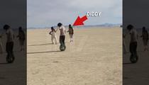 Diddy -- Take That, Take That ... at Burning Man!! (VIDEO)