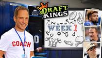 Harvey's NFL Fantasy Picks -- The $10 MILLION Decision!!!