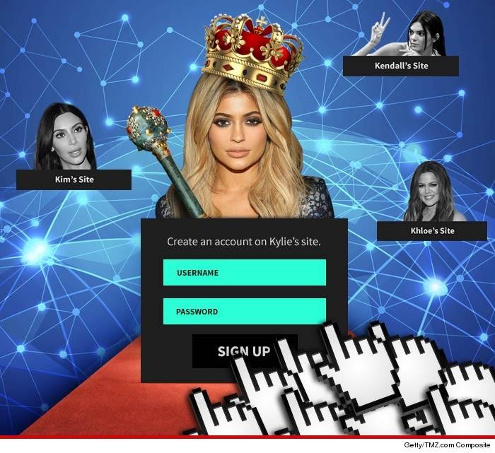 Kylie Jenner Destroying Kim, Kendall and Khloe Online
