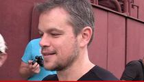 Matt Damon -- I'm All About Hollywood Diversity ... My Show Took Me Out of Context