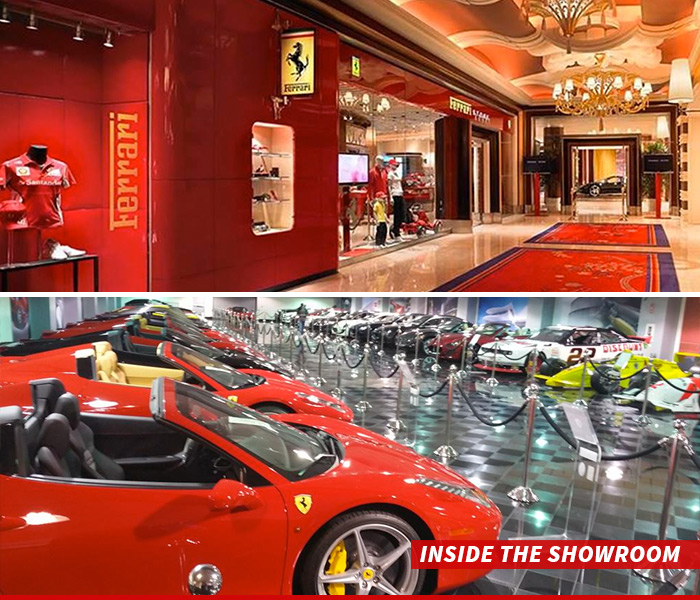 rentals las exotic dean martin cars of in showroom rent ferrari a royalty locationphotodirectlink car vegas nevada picture
