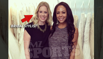 World Cup Champ Sydney Leroux -- Scores Perfect Wedding Gown ... FOR $10,000!!