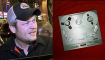 Blake Shelton -- Getting Divorced Was the Best Diet Ever! (AUDIO)