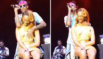 August Alsina -- I Feel for You ... Gropes Fan Onstage (VIDEO)