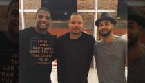 Michael Sam -- Hangin' With 'Empire' Stars ... New Friendship With Jussie Smollett