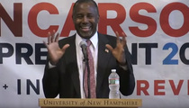 Ben Carson -- I Used to Outrun Cops Before They Shot You ... JK!! (VIDEO)