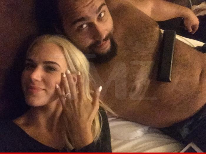 WWE Stars Lana and Rusev Are Getting Married!! | TMZ.com