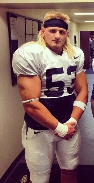 NFL's Brock Hekking -- Magic Mullet!