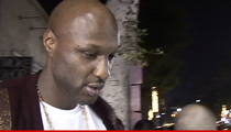 Lamar Odom -- Kidney Turnaround ... Off Dialysis