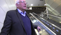 Bernie Sanders -- That Larry David Guy Just Might Make It in Comedy (VIDEO)