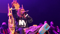 Fetty Wap -- Back Onstage ... Broken But Still the King (PHOTOS & VIDEO)