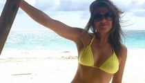 Elizabeth Hurley -- Mellow And Supremely Hot In Yellow (PHOTO)