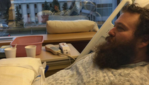 Action Bronson -- Hospitalized After Binging on Whale Blubber