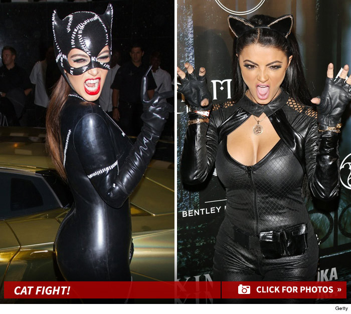 13 Purrfect Pics of Sexy Celebrities in Black Cat Costumes For National Cat Day!  sc 1 st  TMZ.com & 13 Purrfect Pics of Sexy Celebrities in Black Cat Costumes For ...