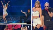 Taylor Swift Joined By Miami's Finest ... What, No Gloria?