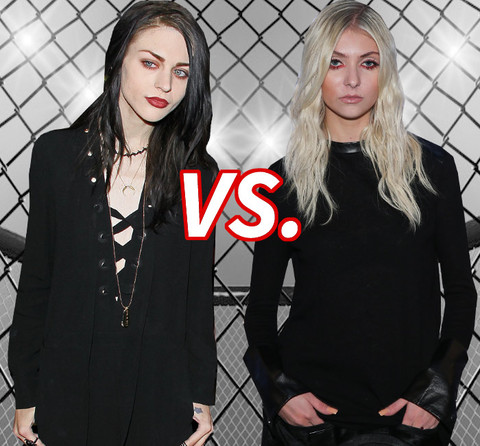 Battle Of The Goth Girls Frances Bean Cobain 23 Vs Taylor Momsen
