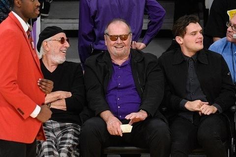 Lou Adler, Jack Nicholson and Ray Nicholson