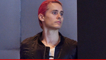 Jared Leto -- Hollywood Hills Halloween Party Pisses Off Neighbors
