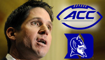NFL's Ed McCaffrey Furious Over Duke Ref Blunder ... It's An Absolute Travesty