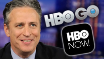 Jon Stewart -- I'm Going Back to Work ... But Not on Traditional TV