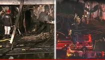 Johnny Mathis -- Singer's Iconic Mansion Burns Down