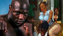 Ex-Boxer Clifford Etienne -- Killing Prison Time ... By Painting