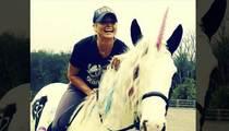 Miranda Lambert -- Birthday Unicorn Makes Everything Better! (PHOTO)
