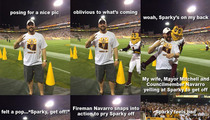 Arizona State -- Sparky Forked Up My Back ... AZ Councilman Claims