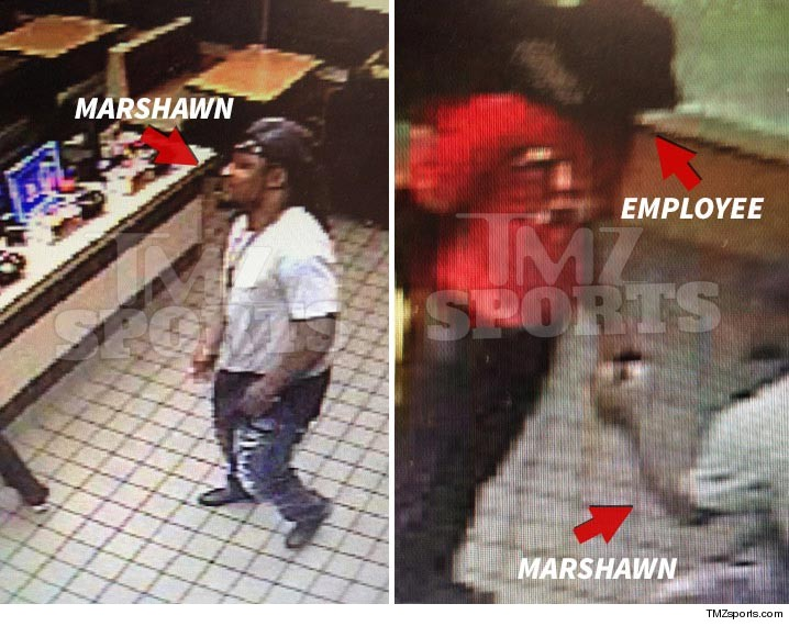 Marshawn Lynch Gives $500 to McDonald's Worker ... 'I Wanna Help You'