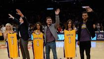 Paris Train Heroes Honored By Lakers ... High Fives from Kobe!