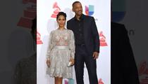 Jada Pinkett Smith Gets No Support at Latin Grammys ... Will Smith Loves It (PHOTO)