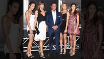 Sylvester Stallone -- Look at My Gorgeous Daughters, But You Can Only Touch One ... Maybe