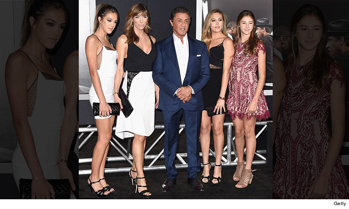 Sylvester Stallone's Gorgeous Daughters ... Look But Don't ...