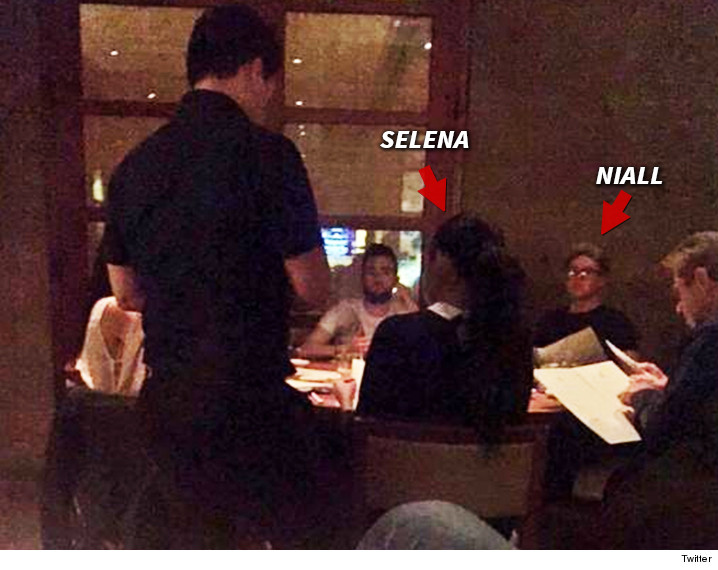 Is selena gomez dating niall horan from one direction