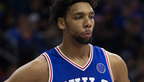 Jahlil Okafor -- Knocked Down Before Gun Pulled ... Cops Say