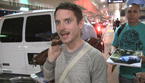 Elijah Wood -- They Got Gollum All Wrong in Turkish Prez Case (VIDEO)