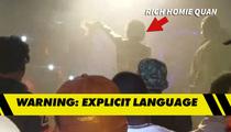 Rich Homie Quan -- Drops Anti-Gay Rant on Fan (VIDEO)