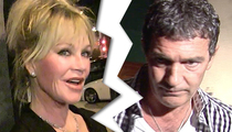Melanie Griffith, Antonio Banderas -- Divorce Final ... He Keeps 'Zorro' Money, They Split 'Shrek' Cash