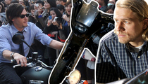 TMZ's Top Motorcycle Moments -- Hot Stars on Their Hogs (VIDEO)
