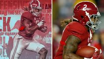 Heisman Candidate Derrick Henry -- SEC Denies Photoshopping Tattoo