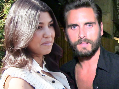 Kourtney Kardashian, Scott Disick -- It's NOT What It Looks Like ... No Chance for Another Chance