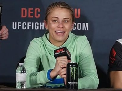 Paige VanZant -- Bloody, Bruised, Smiling ... After 1st UFC Loss