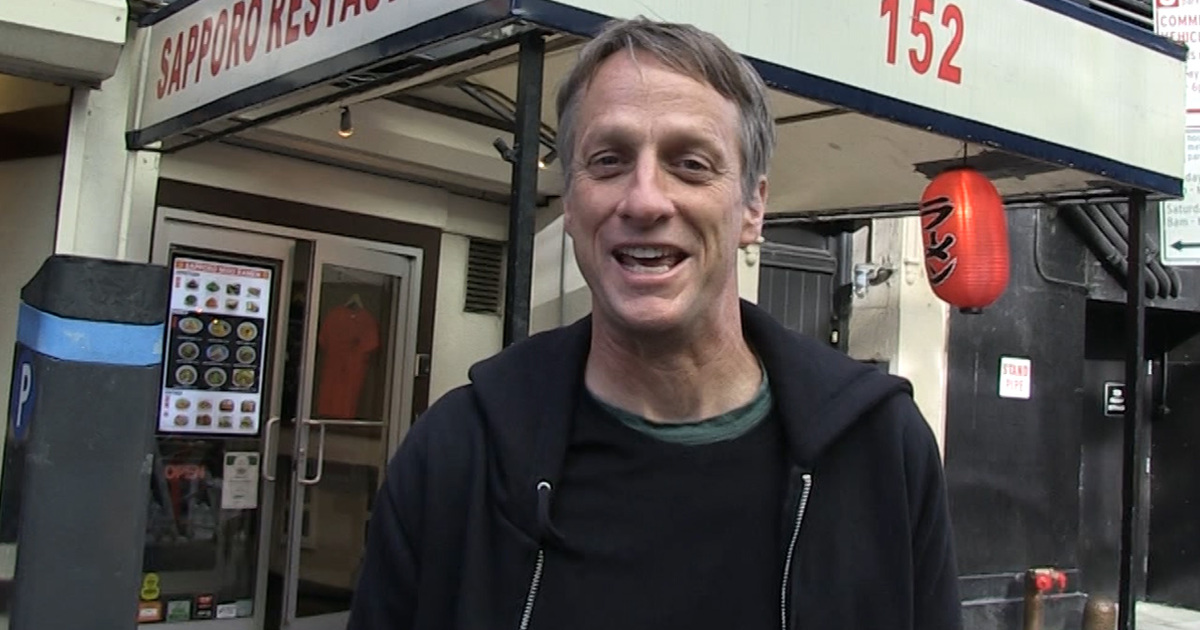 Tony Hawk Exposes the SICKEST Skate Trick EVER ...