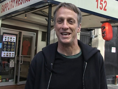 Tony Hawk -- I HATE THOSE HOVERBOARDS ... (They Don't Even Hover!) (VIDEO)